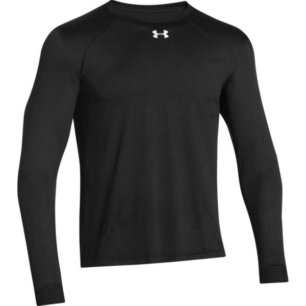 Under Armour Men's Locker T Long Sleeve Jersey, Black