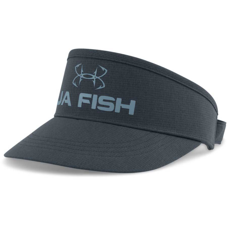 Under Armour CoolSwitch AirVent Visor Men's Fishing Headwear, Stealth Gray_1.jpg