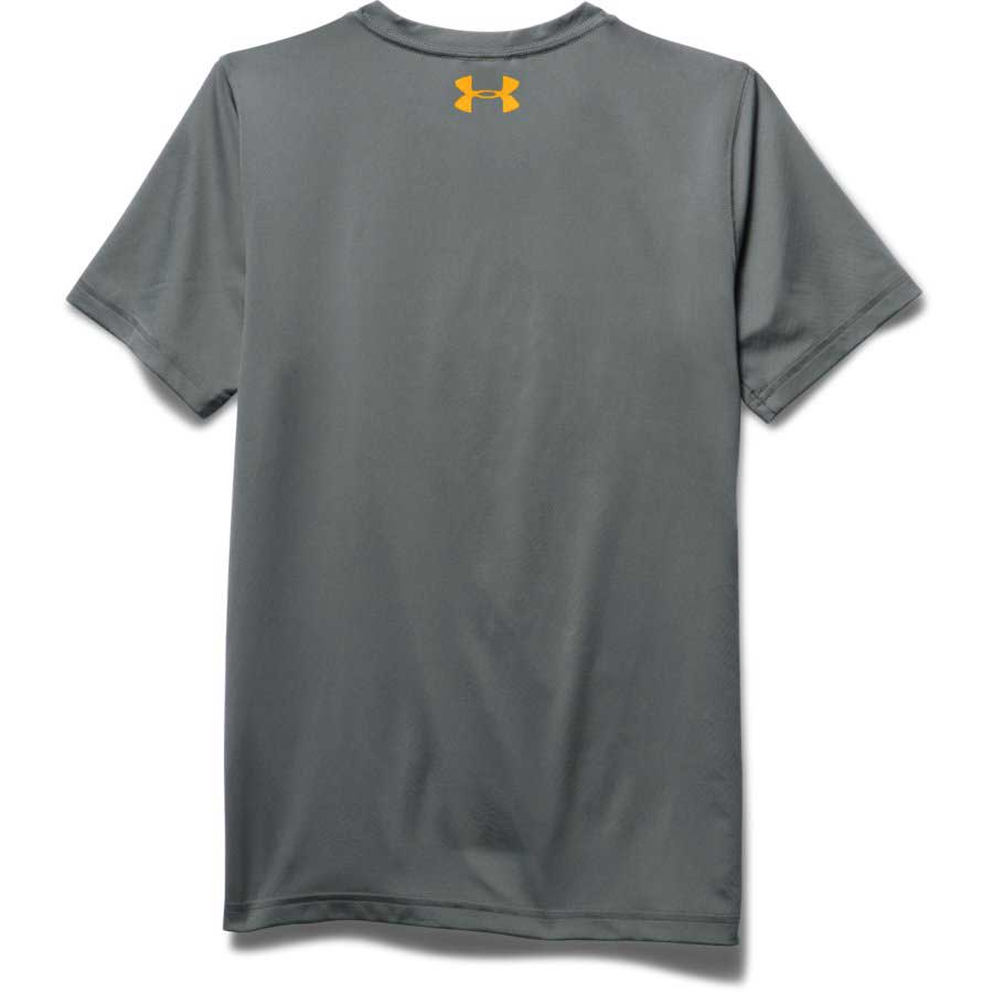 Under Armour CoolSwitch Thermocline Boys' Fishing Short Sleeve T-Shirt, Graphite_1.jpg