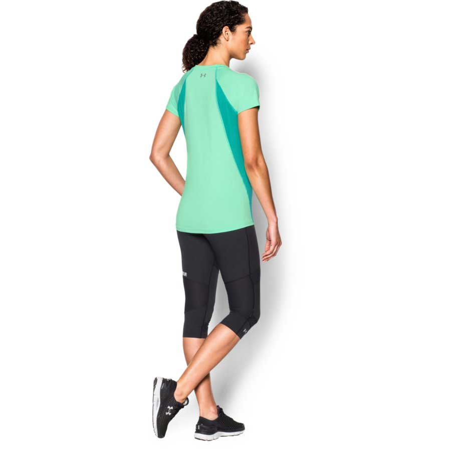 Under Armour CoolSwitch Trail Top Women's Short Sleeve Top, Antifreeze_1.jpg