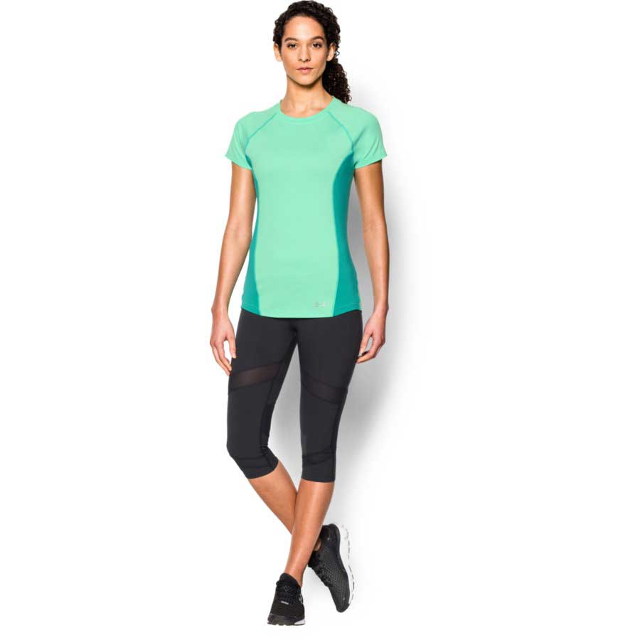 Under Armour CoolSwitch Trail Top Women's Short Sleeve Top, Antifreeze_2.jpg