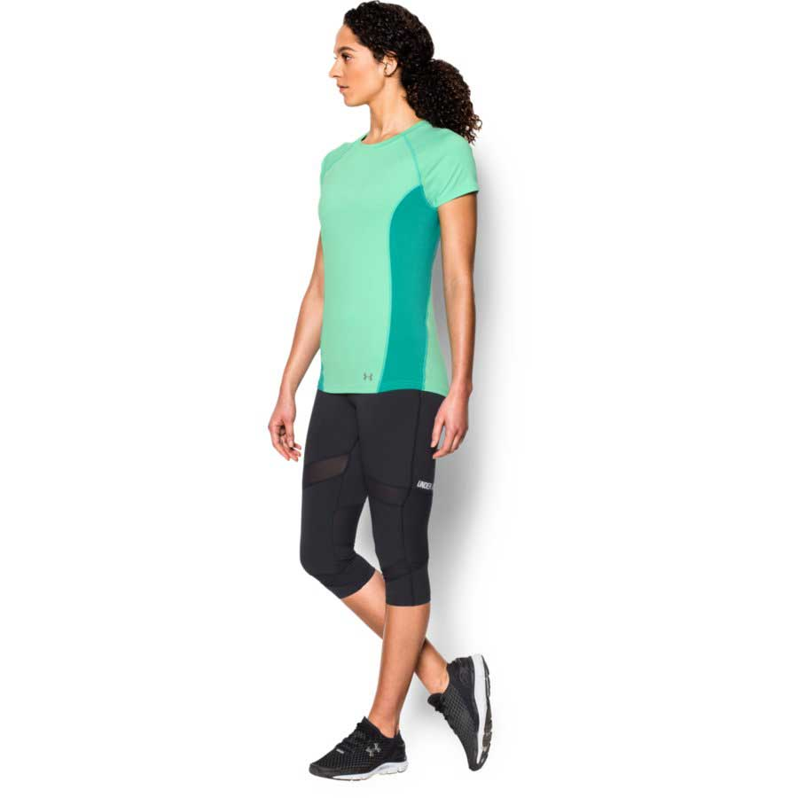 Under Armour CoolSwitch Trail Top Women's Short Sleeve Top, Antifreeze_3.jpg