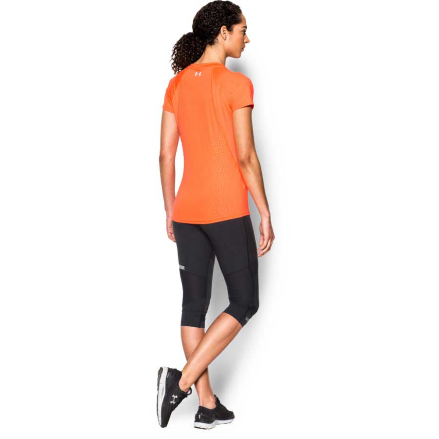 Under Armour CoolSwitch Trail Top Women's Short Sleeve Top, Citrus_1.jpg