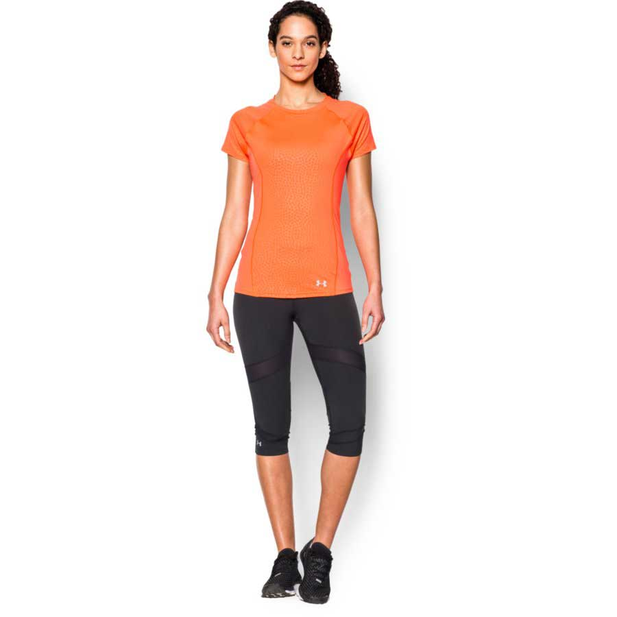 Under Armour CoolSwitch Trail Top Women's Short Sleeve Top, Citrus_2.jpg