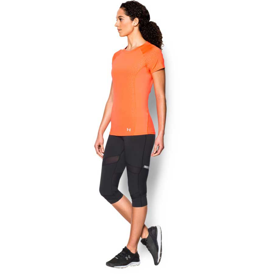 Under Armour CoolSwitch Trail Top Women's Short Sleeve Top, Citrus_3.jpg