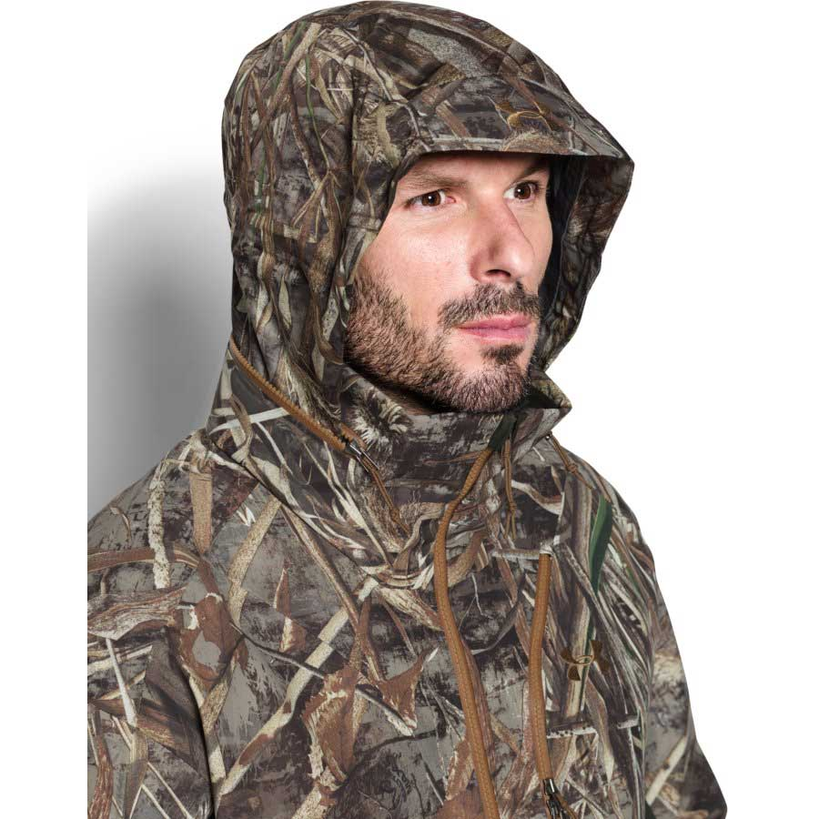 Under Armour Storm Skysweeper Shell Men's Hunting Jacket, Realtree Max 5
