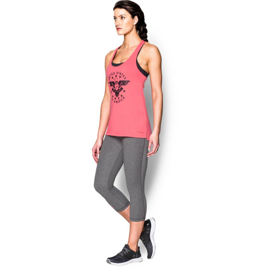 Under Armour Eagle Women's Tank Top, Harmony Red_3.jpg