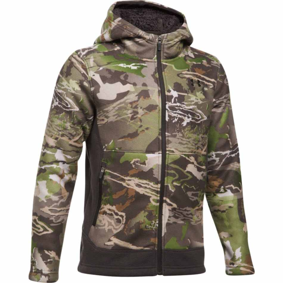 e87969c1caa47 Under Armour Stealth Fleece Boys Jacket, Ridge Reaper Forest