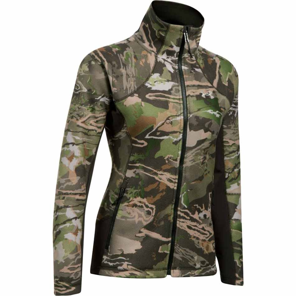 e840e4c03fab3 Under Armour Stealth Womens Jacket, Ridge Reaper Forest