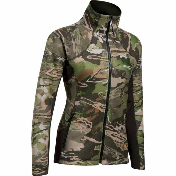 Under Armour Stealth Womens Jacket, Ridge Reaper Forest