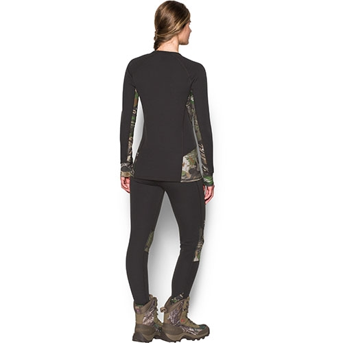 Under Armour Extreme Base Women's Hunting Long Sleeve Shirt, Cannon/Ridge Reaper Forest