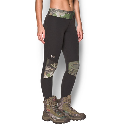 Under Armour Extreme Base Women's Hunting Leggings, Cannon/Ridge Reaper Forest