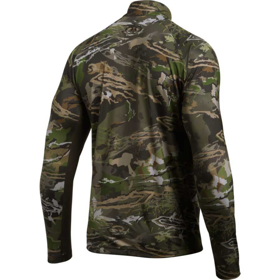 05d55bf08f Under Armour 1289635 CoolSwitch Camo ¼ Zip Men s Hunting Long Sleeve ...