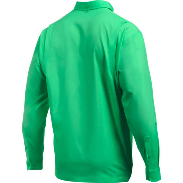 Under Armour Tide Chaser Men's Fishing Long Sleeve Shirt, VapUnder Armour Tide Chaser Men's Fishing Long Sleeve Shirt, Vapor Greenor Green