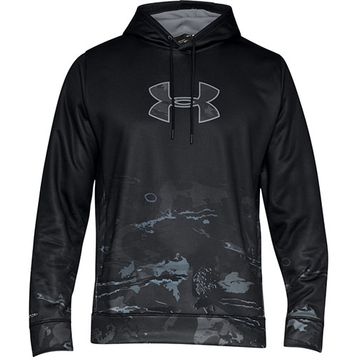 Under Armour Storm Caliber Faded Men's Hoodie, Black