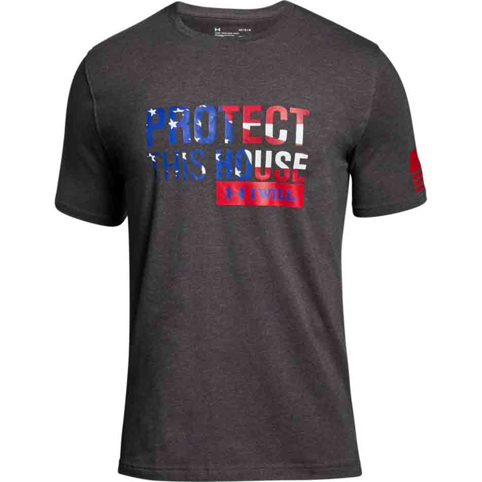 7a316414 Under Armour Freedom Protect This House Men's Graphic T-Shirt, Charcoal.  SKU: UA-1300410-019. (0) No Reviews yet. FEATURED. Sizes :