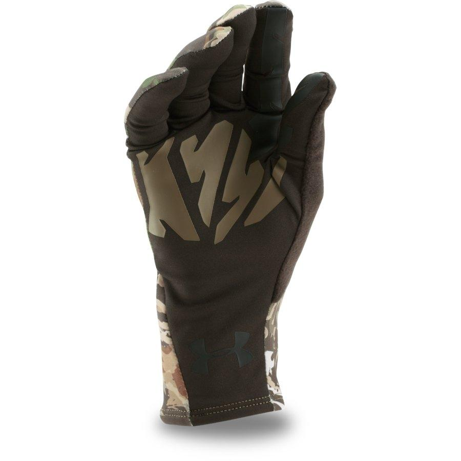 Under Armour Scent Control 2.0 Mens Glove, Ridge Reaper Forest