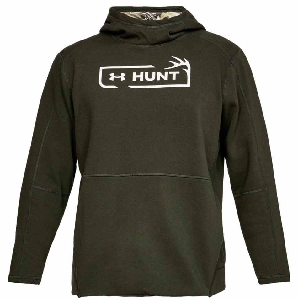Under Armour Men's Microthread Hunt Icon Hoodie, Artillery Green