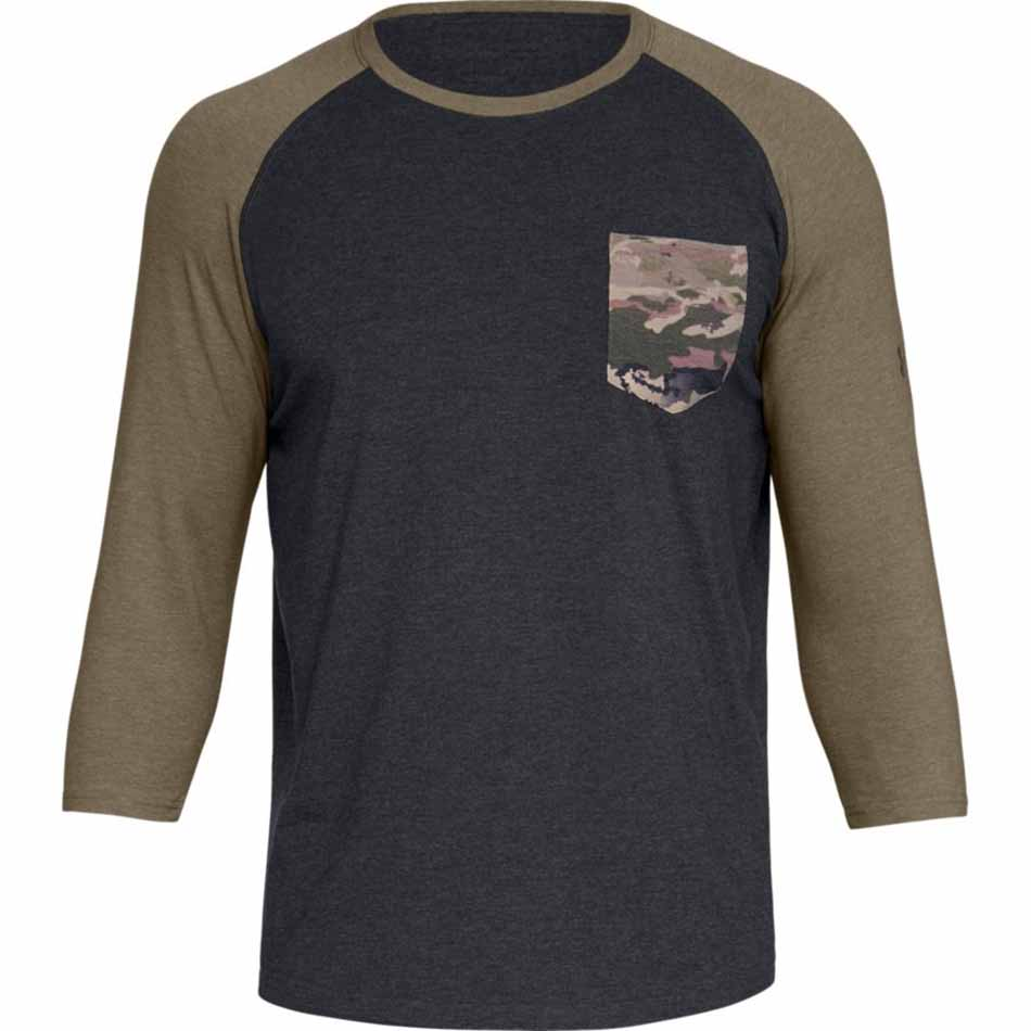 Under Armour Men's Outdoor Utility Hunting Shirt, Black