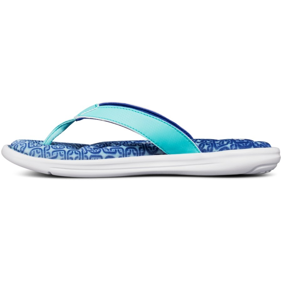 Under Armour Marbella VI Oval Women's Surf Slides, Tropical Tide