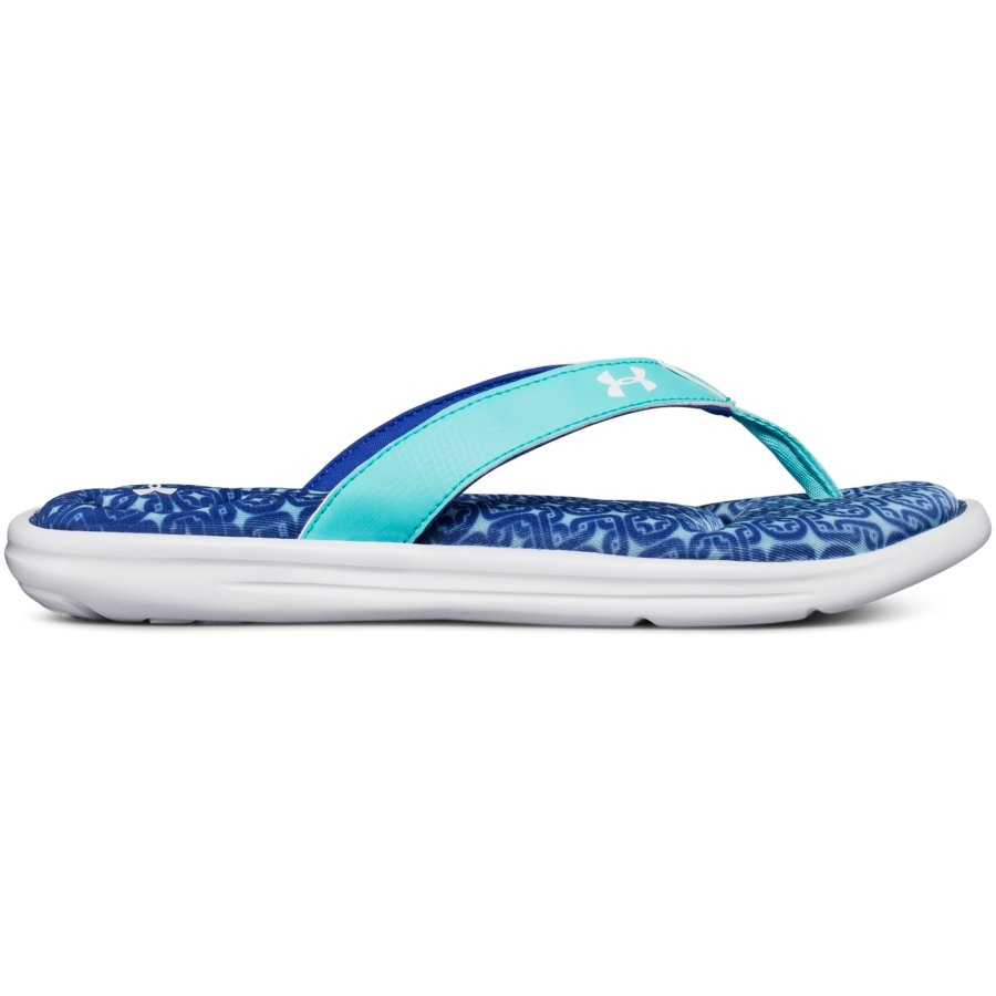 1aef82690a Under Armour Marbella VI Oval Women's Surf Slides, Tropical Tide