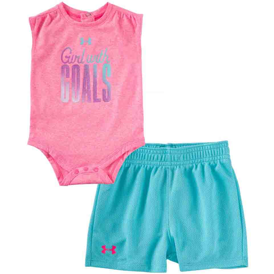 Under Armour Girls with Goals Set - Pink