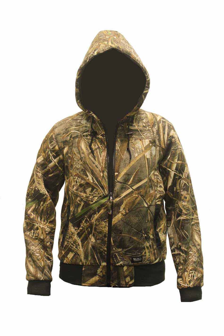 Walls Women's Insulated Quilted Fleece Hooded Jacket in Realtree Max 5_1.jpg