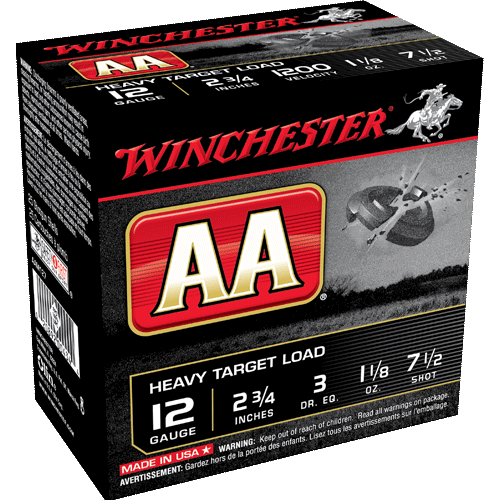 "Winchester Heavy Target Loads, 12GA 2 3/4"" 1 1/8oz 1200FPS_1.png"