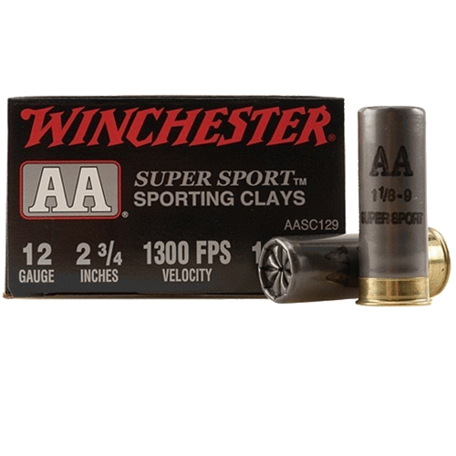 """Winchester AA Super Sport Sporting Clays, 12 GA 2 3/4"""" 1 1/8oz 1300FPS_1.png"""