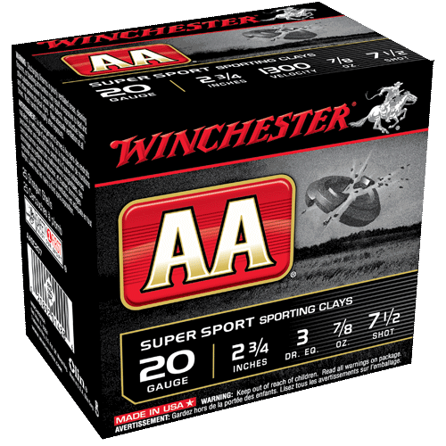 """Winchester 20GA 2 3/4"""" AA Super Sporting Sporting Clays_1.png"""