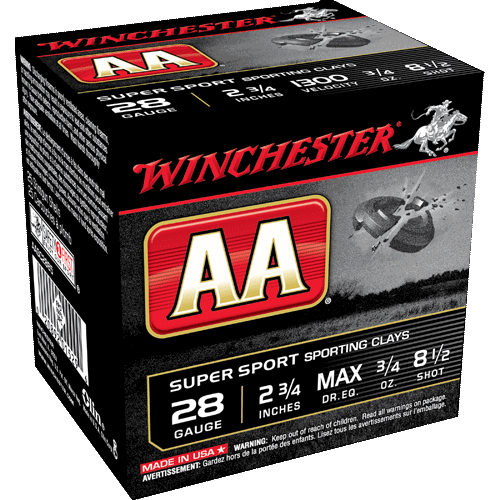 "Winchester AA Super Sport Sporting Clays 28GA 2 3/4"" 3/4oz 1300FPS_1.png"