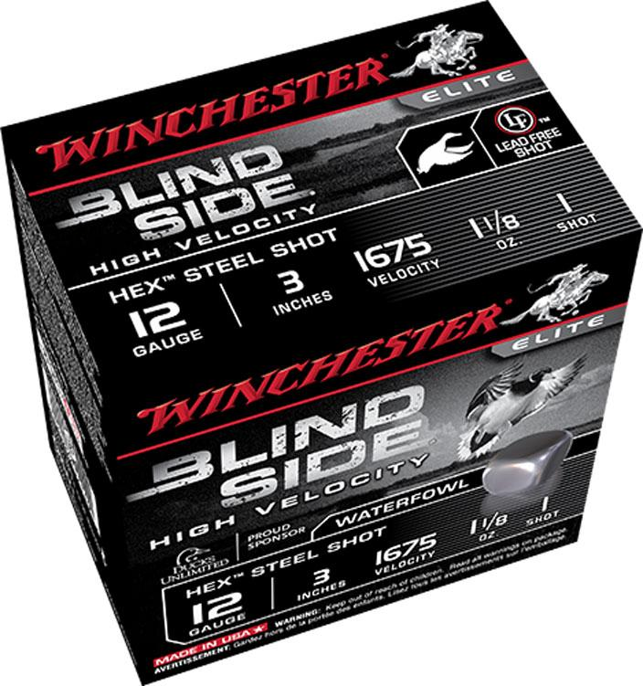 "Winchester High Velocity Blind Side, 12 GA 3"" 1 1/8OZ 1675 FPS_5.jpg"