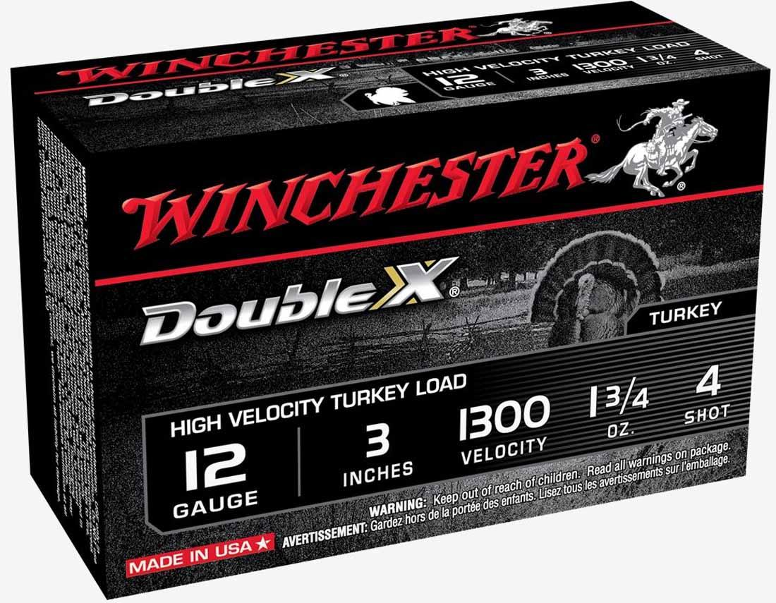"""Winchester Double X Supreme 12GA 3"""" 1300 FPS WIN-STH1234_DX"""