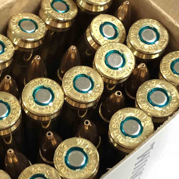 Winchester 5.56mm 62 gr Open Tip, 180 rounds