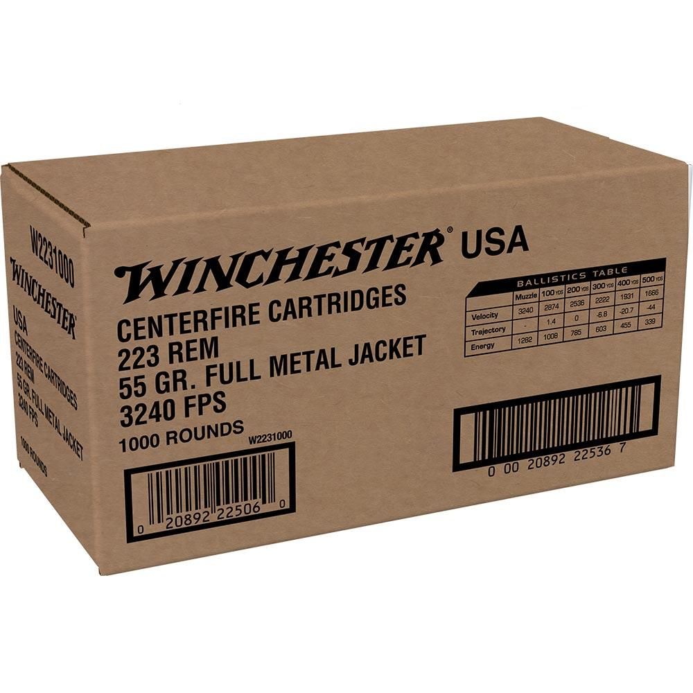Winchester 223 Remington 55 Grain Full Metal Jacket - Case of 1000 rounds_1.jpg