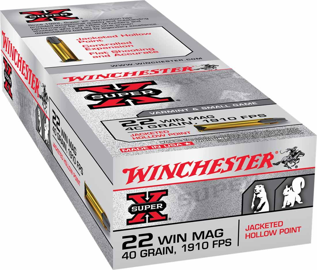 Winchester Super-X 22 Win Mag Hollow Point, 40 gr 1910 FPS, Box of 50_1.jpg