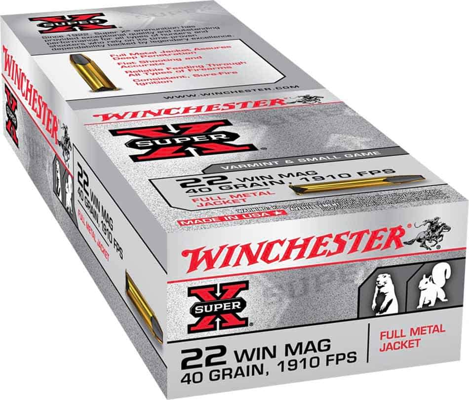 Winchester Super-X 22 Win Mag FMJ, 40 gr 1910 FPS, Box of 50_1.jpg