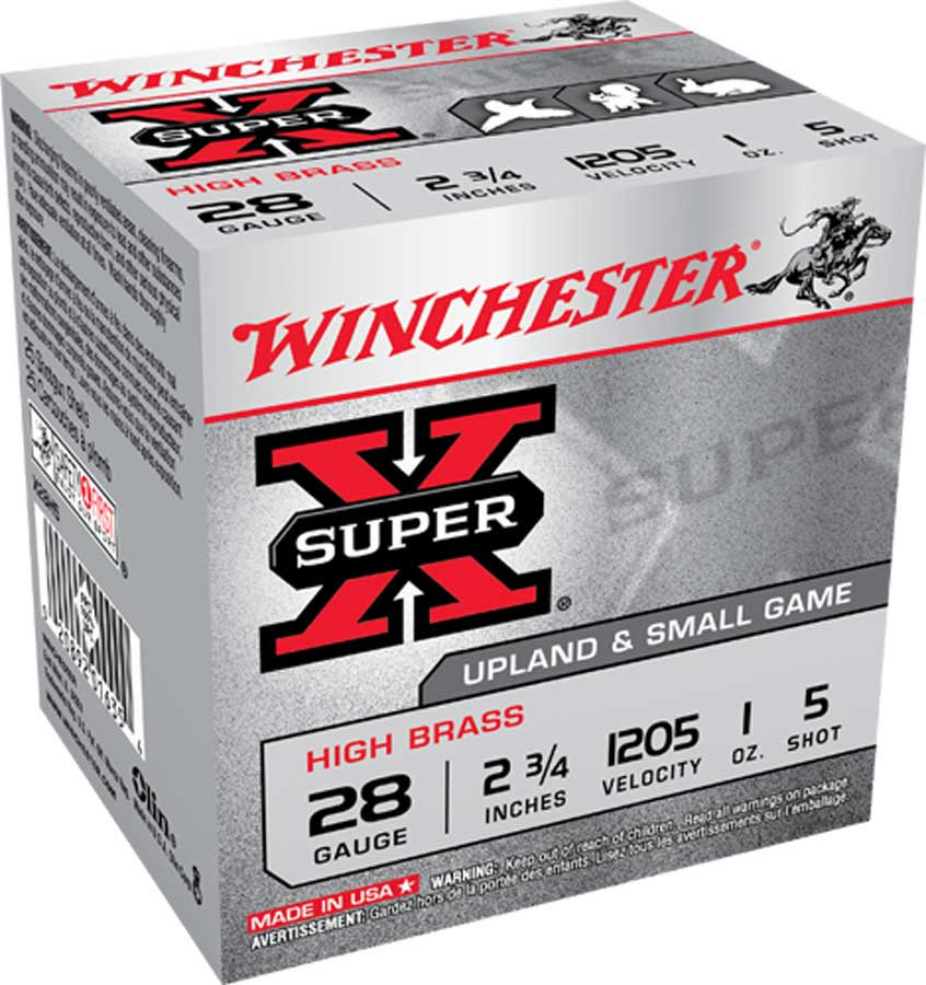 """Winchester SuperX Upland and Small Game High Brass 28 GA, 2 3/4"""" 1205FPS 1 oz shot_1.jpg"""