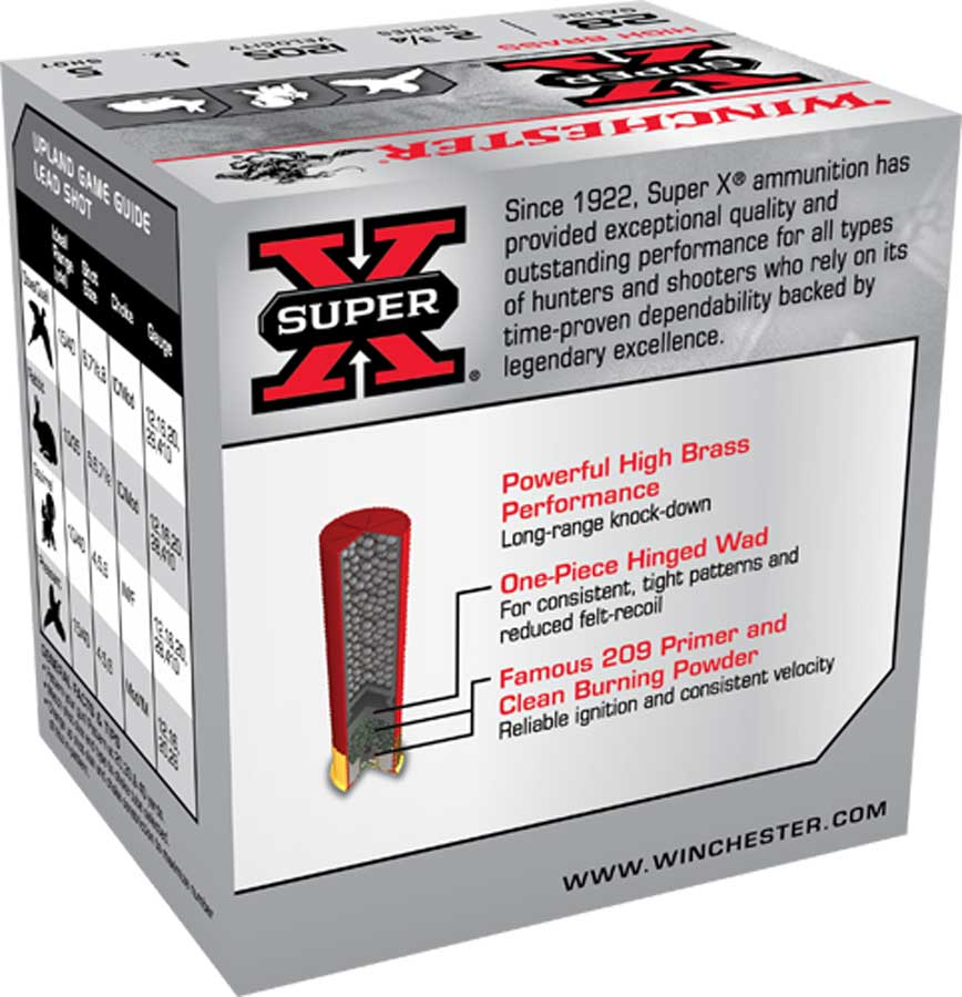 """Winchester SuperX Upland and Small Game High Brass 28 GA, 2 3/4"""" 1205FPS 1 oz shot_4.jpg"""
