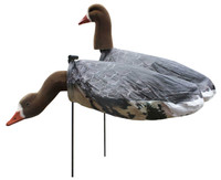 White Rock Decoys Headed Specklebelly Goose Decoys - 12 Pack