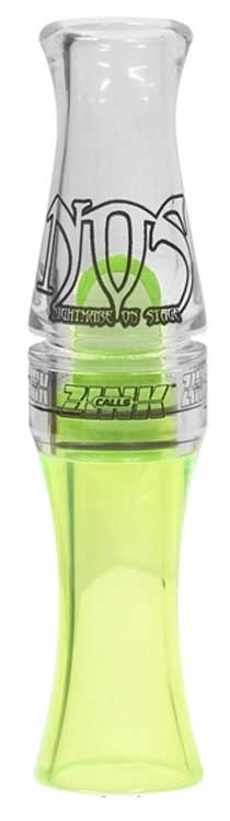Zink Polycarb Lemon Drop Nightmare on Stage (NOS) Canada Goose Call