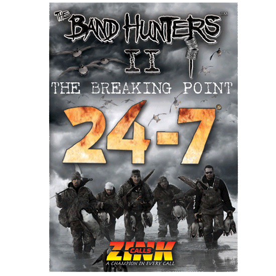 The Band Hunters 2 - The Breaking Point DVD