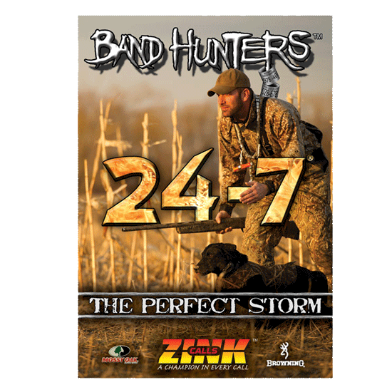 The Band Hunters 3 - The Perfect Storm DVD