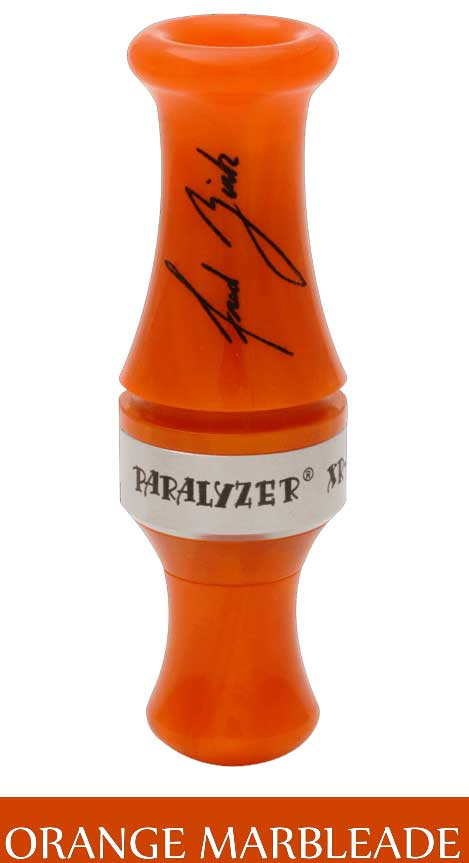 Zink Calls Paralyzer XR-2 Duck Call with Free DVD