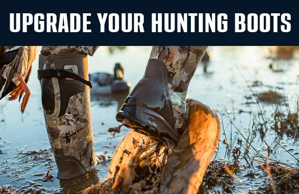 Upgrade your hunting boots